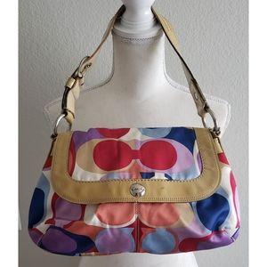 COACH - Multicolored Signature Satchel/Handbag